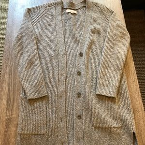 LOFT Textured Cardigan